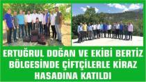 MHP İl Başkanı Ertuğrul Doğan ve ekibi BERTİZ Yöresinde