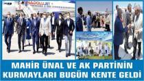 Mahir Ünal ve AK Parti Kurmayları Şehrimizde